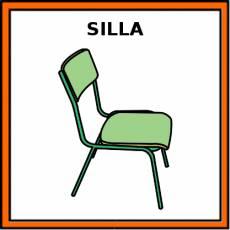 SILLA - Pictograma (color)