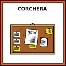 CORCHERA - Pictograma (color)