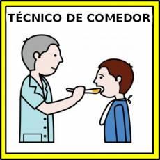 TÉCNICO DE COMEDOR (HOMBRE) - Pictograma (color)