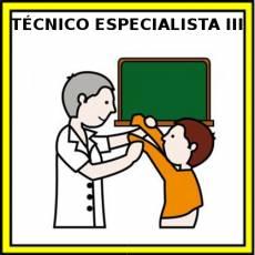 TÉCNICO ESPECIALISTA III (HOMBRE) - Pictograma (color)