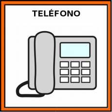TELÉFONO FIJO - Pictograma (color)