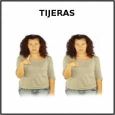 TIJERAS (ESCOLARES) - Signo