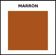 MARRÓN - Foto