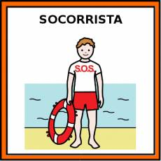 SOCORRISTA (HOMBRE) - Pictograma (color)