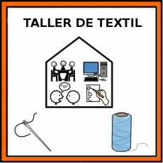 TALLER DE TEXTIL - Pictograma (color)