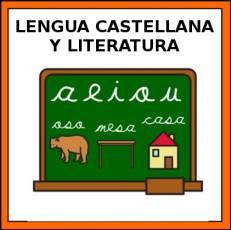LENGUA CASTELLANA Y LITERATURA - Pictograma (color)