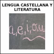 LENGUA CASTELLANA Y LITERATURA - Foto