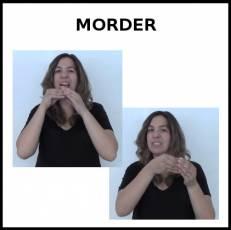 MORDER (ALIMENTO) - Signo