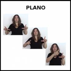 PLANO (MAPA) - Signo