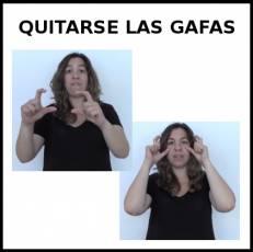 QUITARSE LAS GAFAS - Signo