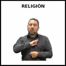 RELIGIÓN - Signo
