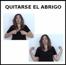 QUITARSE EL ABRIGO - Signo