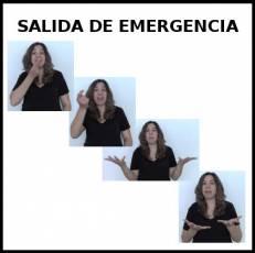 SALIDA DE EMERGENCIA - Signo