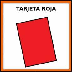 TARJETA ROJA - Pictograma (color)