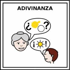 ADIVINANZA - Pictograma (color)