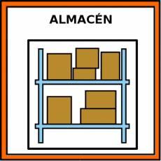 ALMACÉN - Pictograma (color)