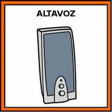 ALTAVOZ - Pictograma (color)