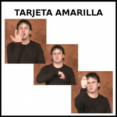 TARJETA AMARILLA - Signo