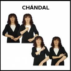 CHÁNDAL - Signo