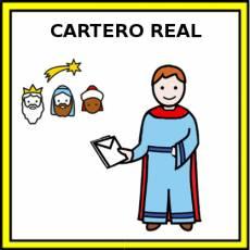 CARTERO REAL - Pictograma (color)