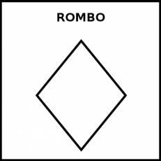 ROMBO - Pictograma (blanco y negro)