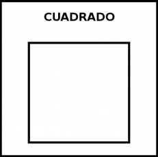 CUADRADO - Pictograma (blanco y negro)