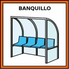 BANQUILLO - Pictograma (color)