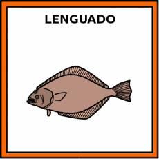 LENGUADO (ANIMAL) - Pictograma (color)