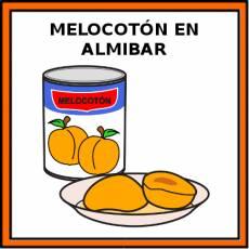 MELOCOTÓN EN ALMÍBAR - Pictograma (color)