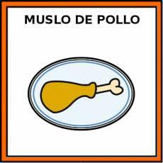 MUSLO DE POLLO - Pictograma (color)
