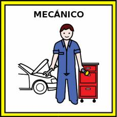 MECÁNICO - Pictograma (color)