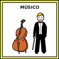 MÚSICO - Pictograma (color)
