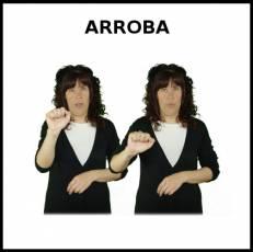 ARROBA - Signo