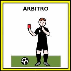 ÁRBITRO - Pictograma (color)