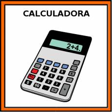 CALCULADORA - Pictograma (color)