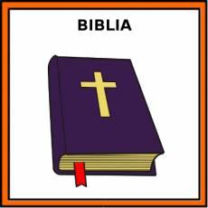 BIBLIA - Pictograma (color)