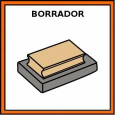 BORRADOR (PIZARRA) - Pictograma (color)