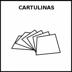 CARTULINAS - Pictograma (blanco y negro)