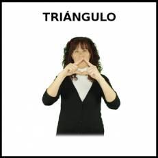 TRIÁNGULO (FIGURA GEOMÉTRICA) - Signo