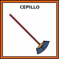 CEPILLO (DE BARRER) - Pictograma (color)