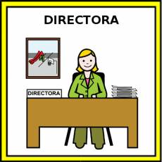 DIRECTORA - Pictograma (color)