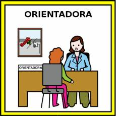 ORIENTADORA - Pictograma (color)