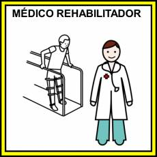 MÉDICO REHABILITADOR - Pictograma (color)