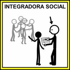 INTEGRADORA SOCIAL - Pictograma (color)