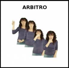 ÁRBITRO - Signo