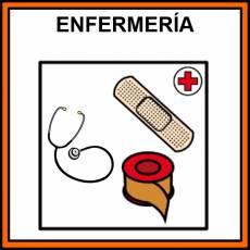 ENFERMERÍA - Pictograma (color)