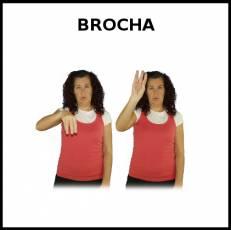 BROCHA - Signo