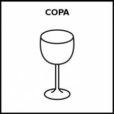 COPA - Pictograma (blanco y negro)