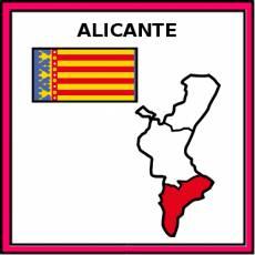 ALICANTE - Pictograma (color)