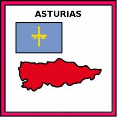 ASTURIAS - Pictograma (color)